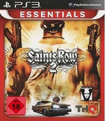 PS3 Essentials Saints Row 2 Playstation 3 Spiel Actionspiel Abenteuer DEUTSCH Ne