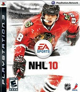 NHL 10 for Playstation 3 PS3