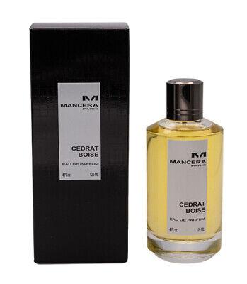 Cedrat Boise by Mancera 4 oz EDP Perfume for Men Women Unisex New in Box