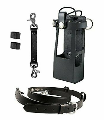 Boston Leather Bundle Three Items Anti Sway Strap For Radio Strap Firefighte