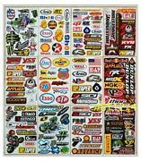 ATV Racing Stickers