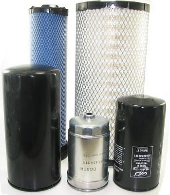 Filter Kit For Mahindra Tractor - 5525-6525 Tier 3 With Hydraulic Filter