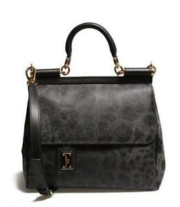 Dolce And Gabbana Leopard Handbag