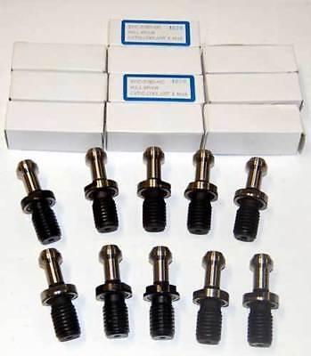 10 Pcs. Techniks Cat50-mas-iii X 90 Pull Studs-mori-seiki Cnc Mill