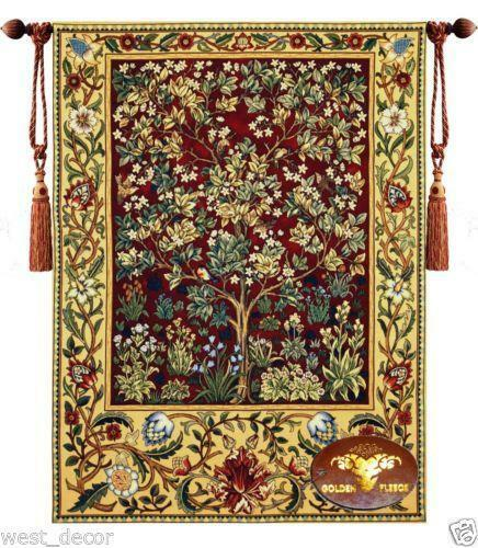 Tree Of Life Tapestry Ebay