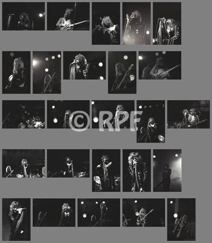 Aerosmith 74/09/07 photo SET, 25 photos 4x6 - NYC