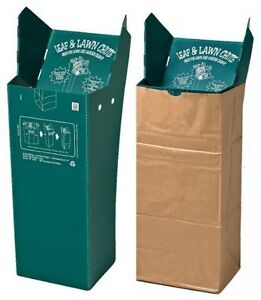 Leaf & Lawn Chute--NEW--GREAT FOR GRASS AND LEAF BAGGING
