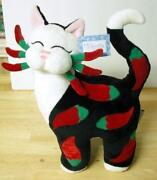 Whimsiclay Figurine Amy Lacombe Cat