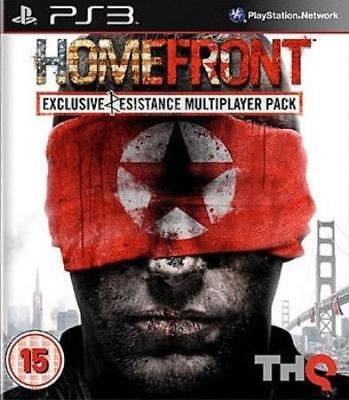 PlayStation 3 : Homefront Resist Edition Game PS3 VideoGames