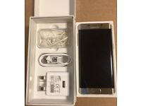 As brand new samsung galaxy s6 edge plus gold 32gb any sim px s7 iphone 6s 7