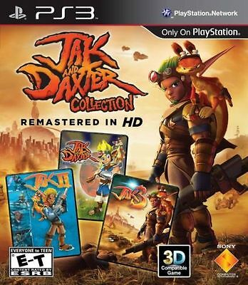 PS3 GAME JAK AND DAXTER COLLECTION - PLAYSTATION 3 - BRAND NEW & FACTORY SEALED