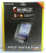ZAGG Invisible Shield iPad 2 Smudge Proof