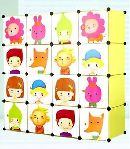 PLASTIC WARDROBE CUPBOARD ALMIRAH KIDS DLX  LKL 61 K available at Ebay for Rs.6299