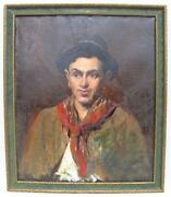Antique Oil Portrait