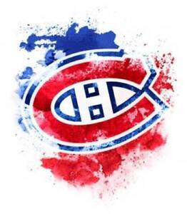 16 X GAME MATCH BILLETS GROUP GROUPE CANADIENS MONTREAL