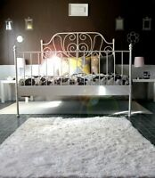 IKEA white bed frame !