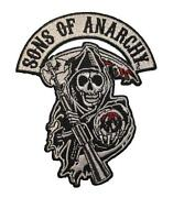 Sons of Anarchy Iron on Patches