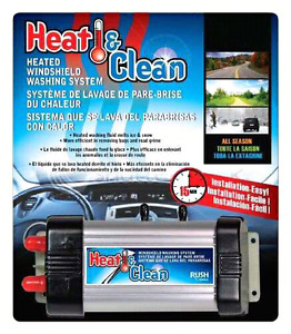 Heat & Clean Heated Windshield Washing System.