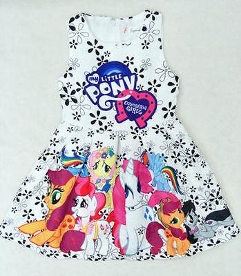 2018 New Girls My Little Pony Summer Lovely Party Birthday Holiday Tutu - My Little Pony Tutu