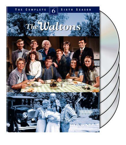 THE WALTONS : COMPLETE SEASON 6 (English cover) -  DVD - UK Compatible