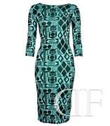 Aqua MIDI Dress