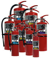 FIRE EXTINGUISHER YEARLY INSPECTIONS - REPAIRS