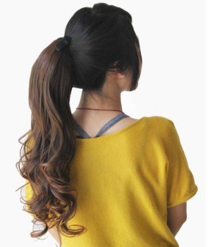 Ebay Human Hair Ponytail 16