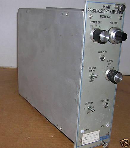 Canberra 1713 X-Ray Spectroscopy Amplifier NIM BIN Module