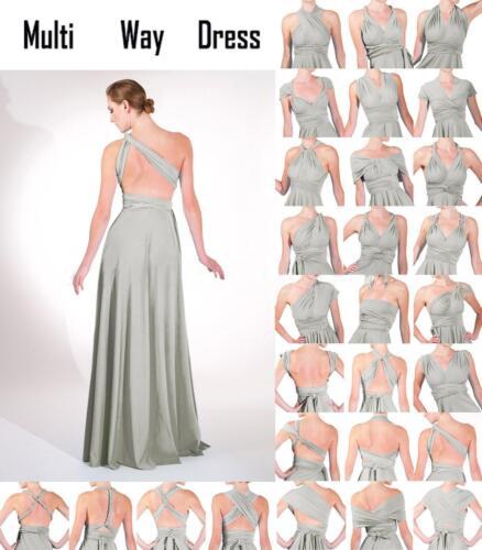 Neuankömmling letzte Veröffentlichung wie man kauft Damen Kleid Wickelkleid Hochzeitskleid Maxikleid Partykleid ...