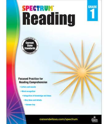 Spectrum Reading Workbook, Grade 1 - Paperback By Spectrum - GOOD