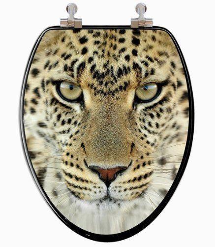 Leopard Toilet Seat Ebay