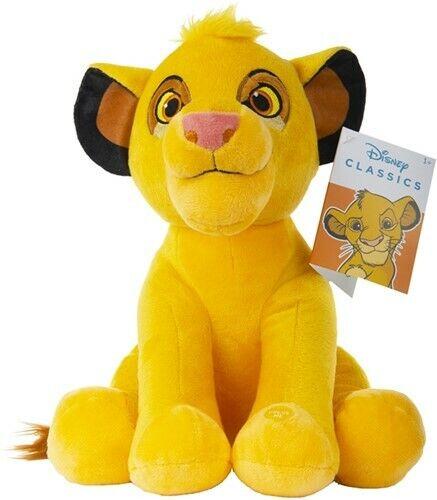 Walt Disney Simba König der Löwen Plüschfigur + Sound 29 cm Filmfigur NEU