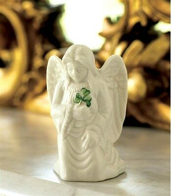 Belleek China Shamrock Angel of Protection Made In Ireland
