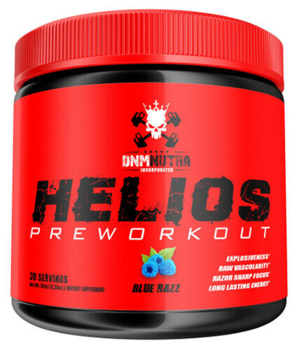 DNM NUTRA HELIOS (30 SVGS) incorporated caffeine energy pump focus preworkout