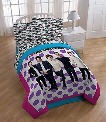 Global Entertainment One Direction Dots Twin Size Sheets Set