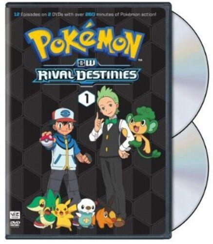 Pokemon: Black & White - Rival Destinies, Set 1 [2 Disc (2013, REGION 1 DVD New)
