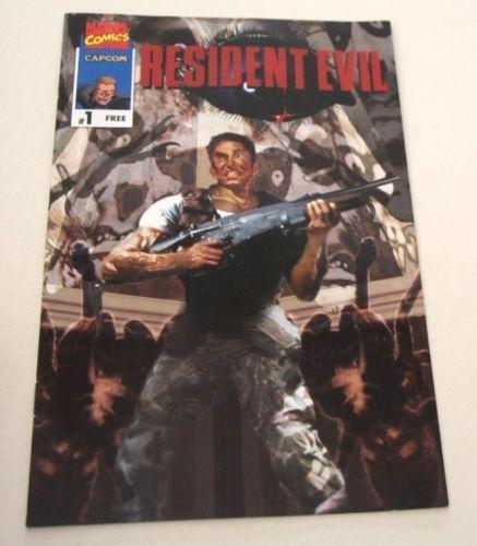 Free Comic Book Day Uk Store Locator: Resident Evil Comic