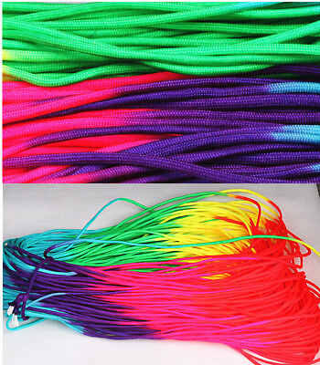 Rainbow Paracord (100ft RainBow Color 550 Paracord Rope 7 strand Parachute Cord CAMPING)