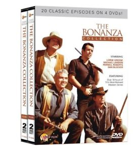 Bonanza-20 episodes on 4 dvds-new and sealed box set +