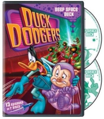 Duck Dodgers  Deep Space Duck Season Two  New Dvd  2 Pack  Eco Amaray Case