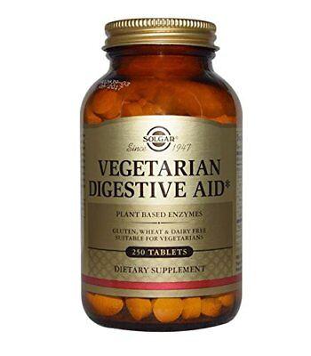 - Solgar Vegetarian Digestive Aid Chewable Tablets 250 Count