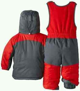 Used Columbia Double Flake Reversible Winter Set Kitchener / Waterloo Kitchener Area image 3