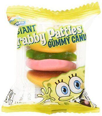 SpongeBob Squarepants Giant Gummy Krabby Patties 0.63 OZ (36 Count) - Krabby Patties