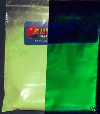 Ultraviolett UV Leuchtend Leuchtstofflampen Pigmentpulver - Grün ()