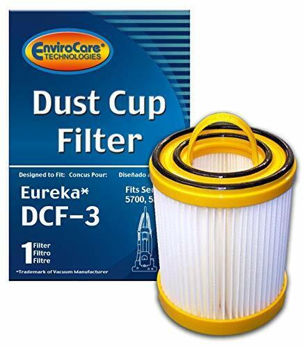 EnviroCare Replacement Premium Vacuum Cleaner HEPA Filter Made to fit Eureka ...