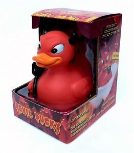 Devil Ducky CelebriDuck Rubber Duck NIB Gift Box