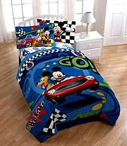 Mickey Mouse Twin Bed Set