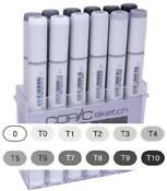 Copic Markers Grey Set