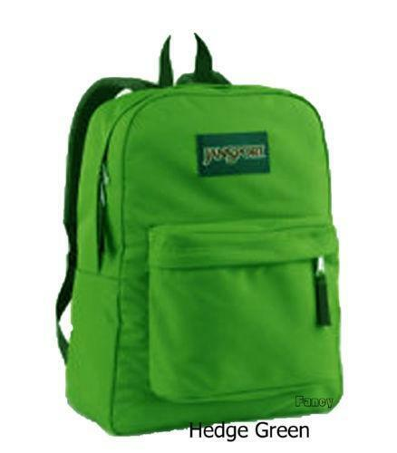 Green Jansport Backpack | eBay