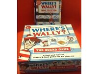 Where's Wally board game and book Bundle